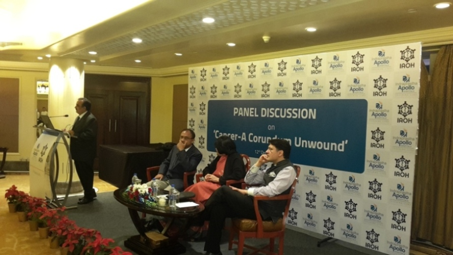 Panel discussion on Cancer-A Conundrum Unwound