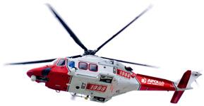 Air Ambulance Services in Indraprastha Apollo Hospitals Delhi, India